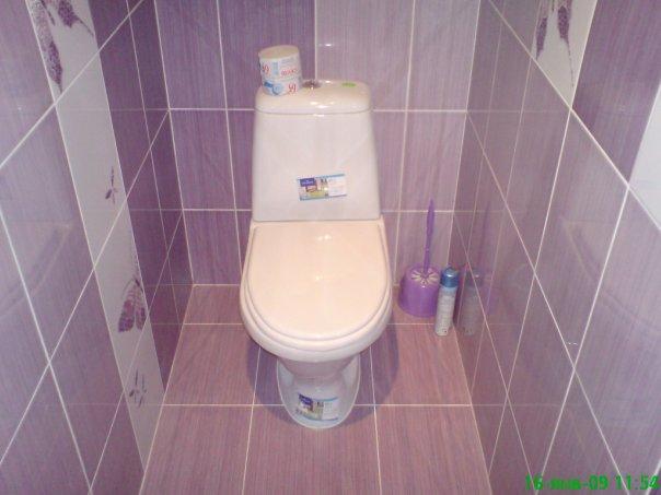 Ремонт своими руками туалет фото